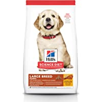 Hill's Science Diet Puppy Large Breed Chicken Meal & Oats Recipe Dry Dog Food, 15.5 lb Bag