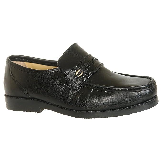 Tycoons Mocasines Para Hombre Negro Negro 11 UK: Amazon.es: Zapatos y complementos