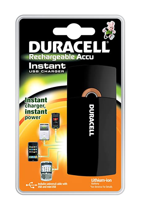 Duracell PPS 2 Exterior Negro - Cargador (Exterior, Batería ...