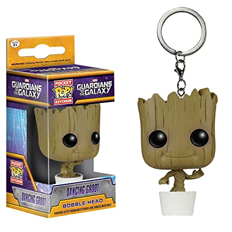 Guardians Of The Galaxy Baby Groot- llavero- Funko Pop- en ...