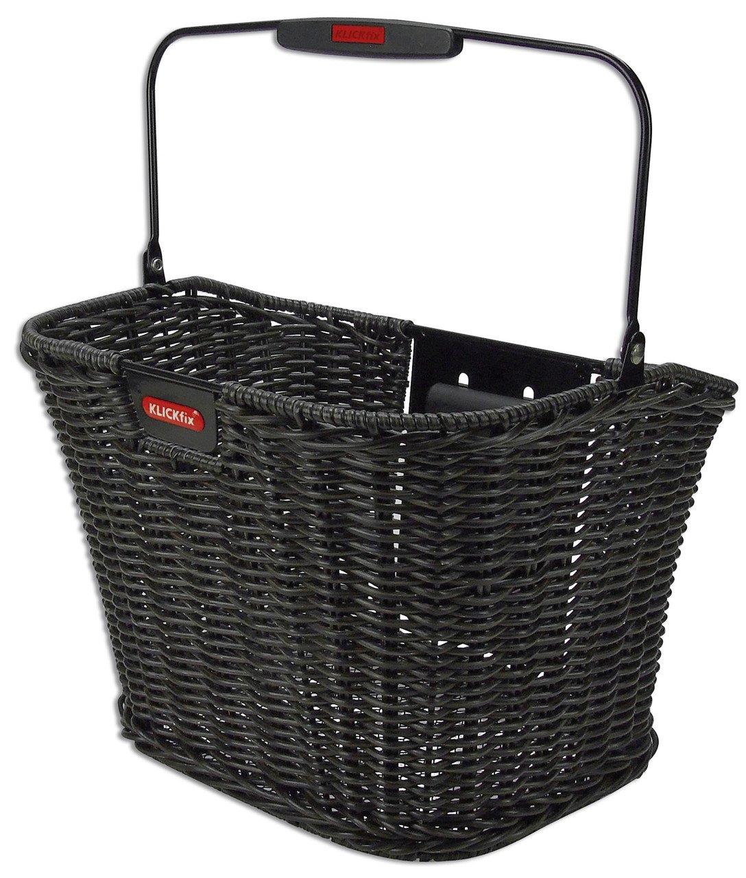 KlickFix Structura Retro Front Handlebar Basket black