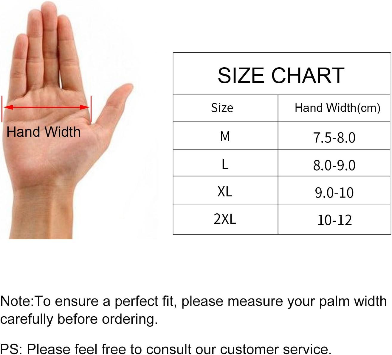 Kutook Full Finger Cycling Gloves Touch Screen Pad MTB Gloves for Men Women