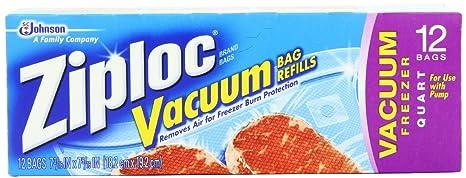 Amazon.com: Ziploc bolsas recambio para aspiradora (Pack de ...