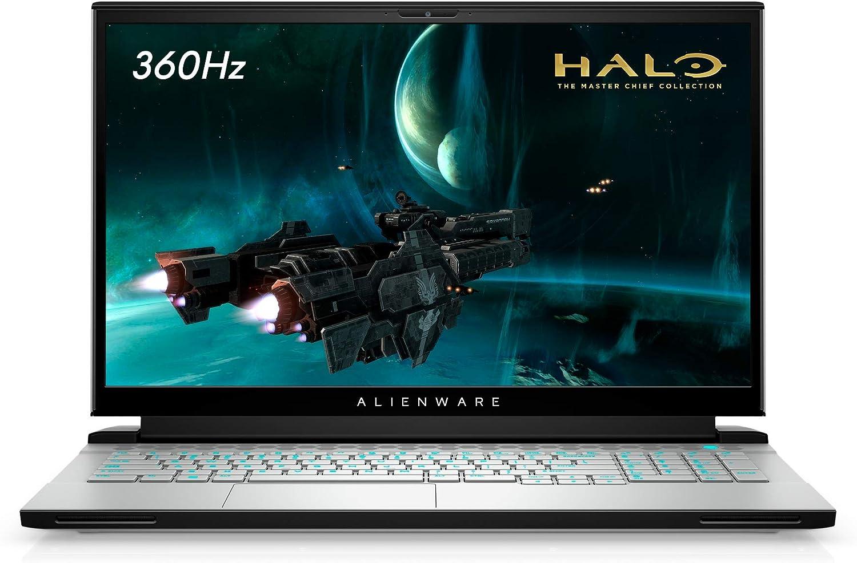 Alienware m17 R4, 17.3 inch FHD (Full HD) Gaming Laptop - Intel Core i7-10870H, 16GB DDR4 RAM, 1TB SSD, NVIDIA GeForce RTX 3060 6GB GDDR6, Windows 10 Home - Lunar Light (Latest Model)