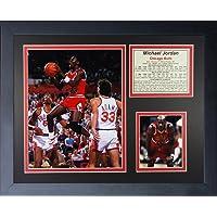 """Legends Never Die """"Michael Jordan a Distancia Foto enmarcada Collage, 27,94 cm x 35,56 cm"""