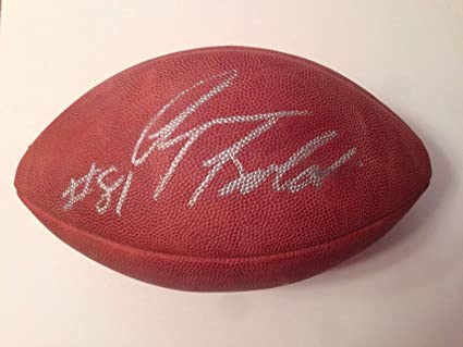 b4363a0eb Image Unavailable. Image not available for. Color  Anquan Boldin  Autographed Signed Official NFL Football Duke Memorabilia - PSA DNA  Authentic