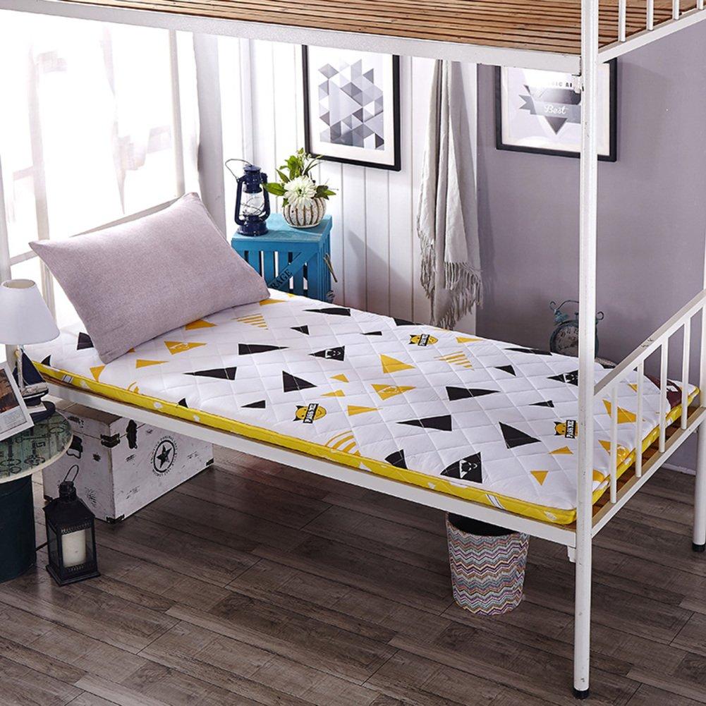 A 150x200cm(59x79inch) Thickened 6cm Student Mattress,Folding Tatami Mattress,Folding Floor Sleeping pad,Foldable,for Yoga Camping-B 180x200cm(71x79inch)
