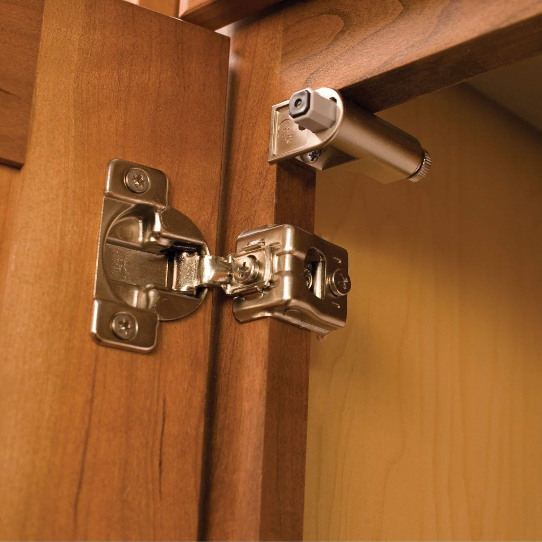 Rok Hardware Nickel-Finished Plastic Soft-Close Cabinet Door Damper (Case of 100) by Rok (Image #4)
