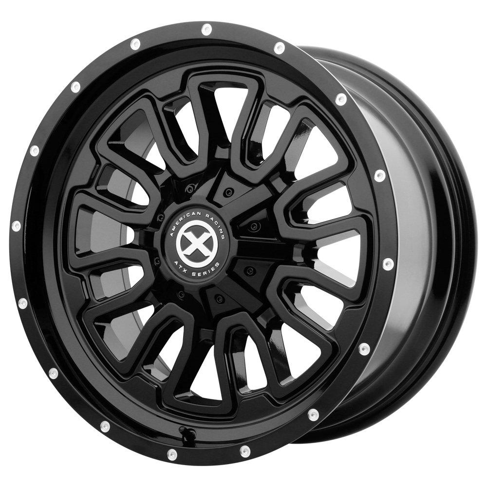ATX Series AX203 18x9 8x165.1 +0mm Gloss Black Wheel Rim