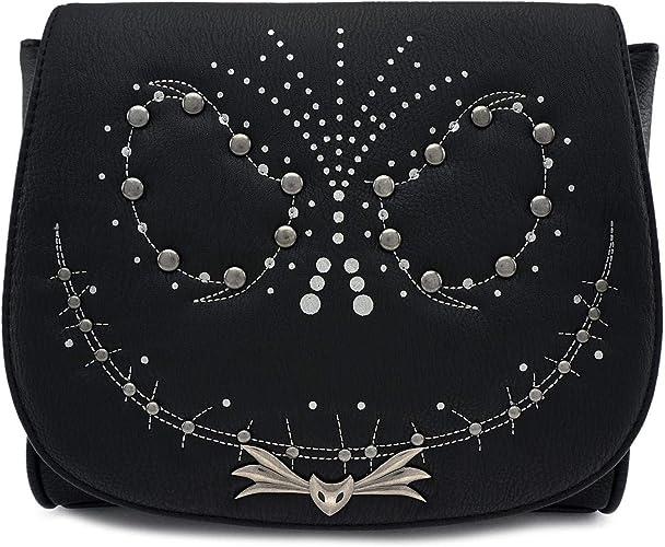 Loungefly Nightmare Before Christmas Halloween Town Crossbody Bag Purse NEW