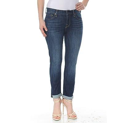 7 For All Mankind Women's Josefina High Rise Boyfriend Jeans: Clothing