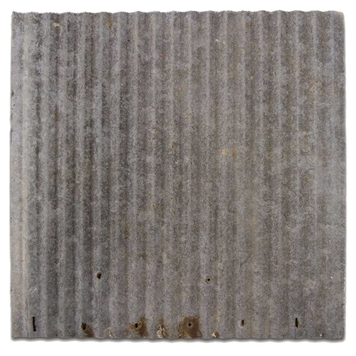 CeilingConnex Upcycled 2'x2' Dakota Barn Tin Ceiling Tile - Marjority Galvanized - Works with Standard Drop Grid