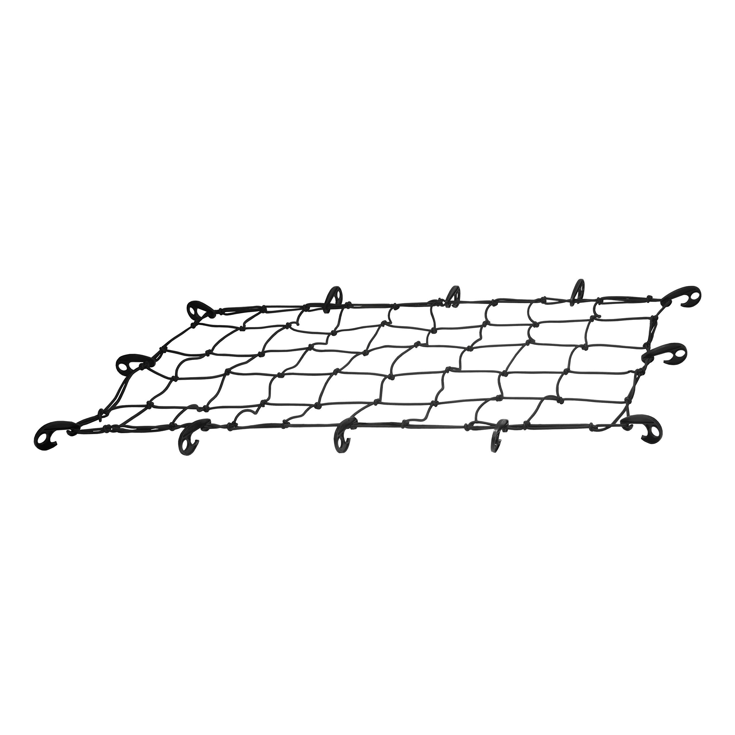 CURT 18202 Elastic Cargo Net with Hooks, 43-Inch x 24-Inch by CURT
