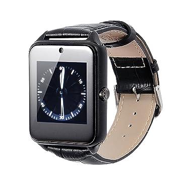 Smartwatch Reloj Inteligente VOSMEP 2016 soporte Facebook Twitter con Bluetooth 4.0 Muñeca Inteligente Pulsera Deporte con Cámara Pantalla táctil para ...