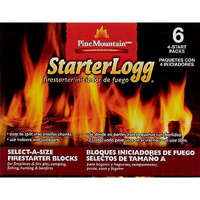 Pine Mountain StarterLogg Firestarter Easy Starters for Indoor Outdoor