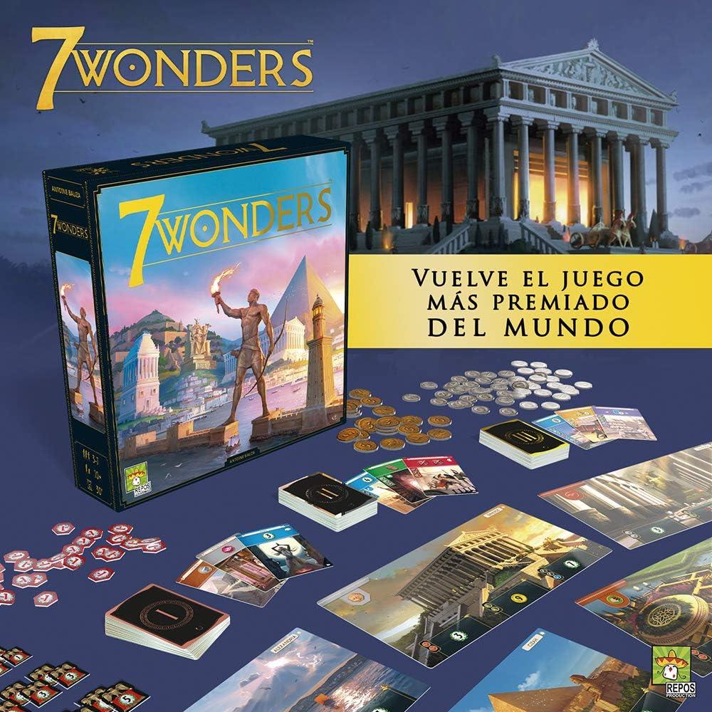 #Juegodemesa 7 Wonders por 34,19€ ¡¡24% de descuento!!