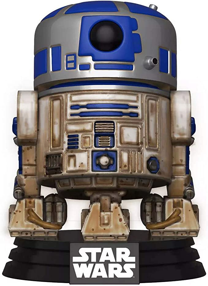 Amazon.com: Funko 49810 POP Star Wars-Dagobah R2-D2 Collectible Toy, Multicolour: Toys & Games