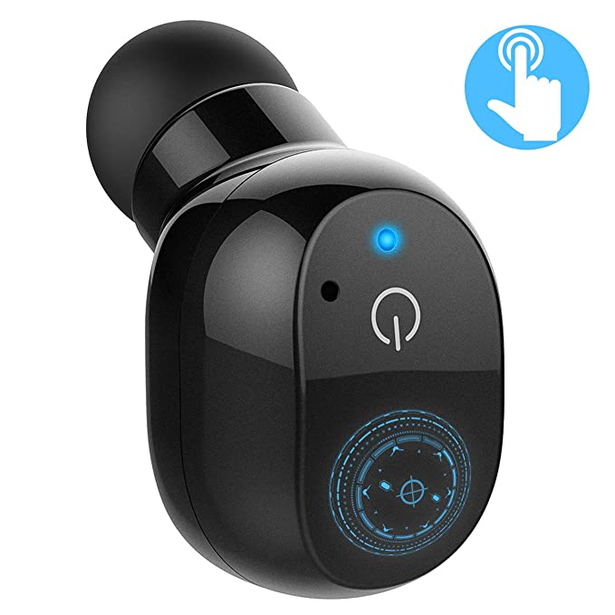 Mpow Mini Auricolare Bluetooth 4.2 con Controllo Toccabile 3e3bfff78bb8