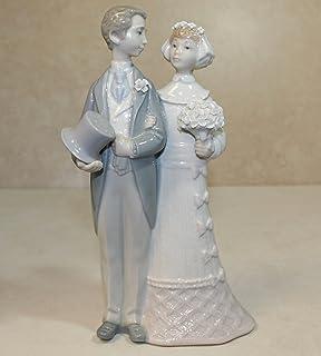 Lladro Figurine 4808 Wedding Bride And Groom