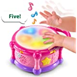 LeapFrog Learn & Groove Color Play Drum Bilingual, Pink