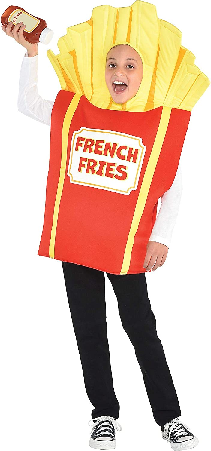 amscan 8401967 Large French Fries Costume - Small Size