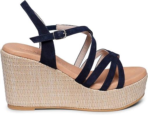 Zapatos miMaO. Sandalias Piel Mujer Hechos EN ESPAÑA. Sandalias de ...