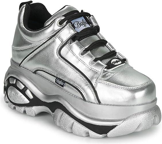 Buffalo 1339 14 2 0 Damen Schuhe Silber Amazon De Schuhe Handtaschen