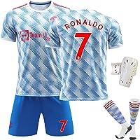 Ronaldo NO.7 Soccer Jersey 2022 Manchester United New Season Football Jersey Children and Adult Training Football Jersey…