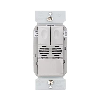 WattStopper DW-200-G Motion Sensor, Dual Tech Wall Switch Occupancy Sensor, 800/1200W, 120/277V - Gray - Wall Light Switches - Amazon.com