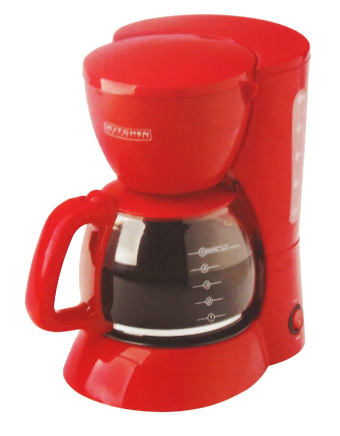 5 Cup Coffee Maker Amazoncom Kitchen Selectives Colors Red 5 Cup Coffee Maker