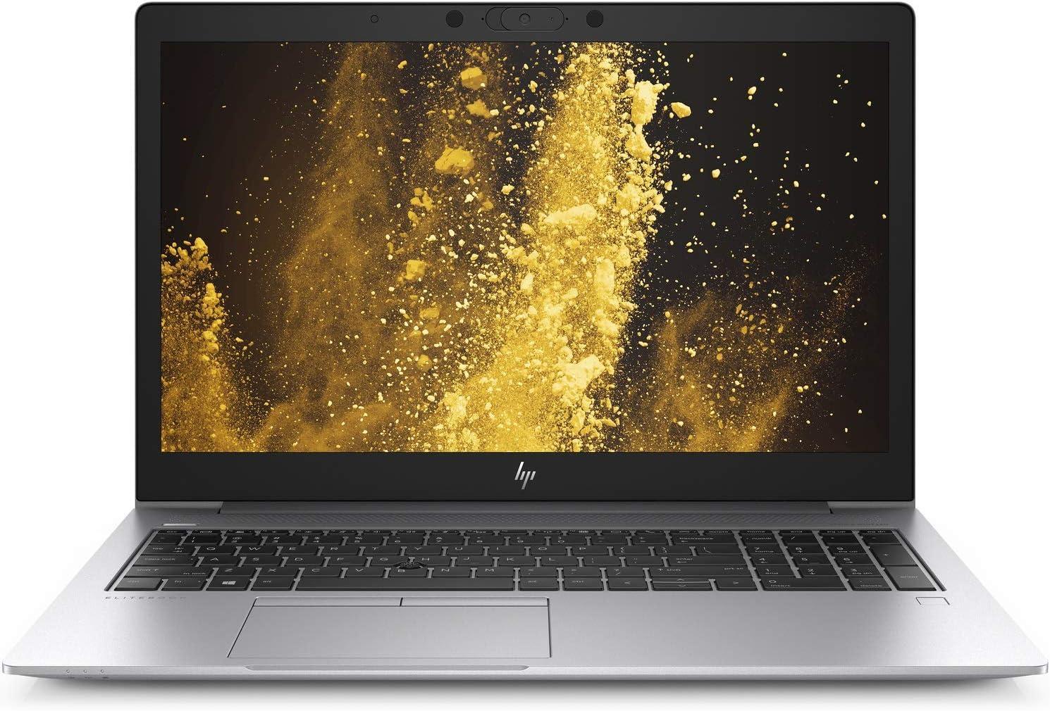 "2019 HP EliteBook 850 G6 15.6"" FHD Business Laptop Computer: 8th Gen Intel Quard-Core i7 8565U up to 4.6GHz/ 8GB DDR4 RAM/ 512GB PCIe SSD/ 802.11ac WiFi/ Bluetooth 4.2/ USB-C/ Windows 10 Professional"
