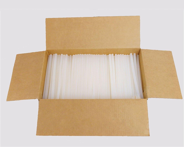 Tapenglue Economy Hot Melt Glue Sticks 7/16'' X 10'' 110 Sticks 5 lbs bulk