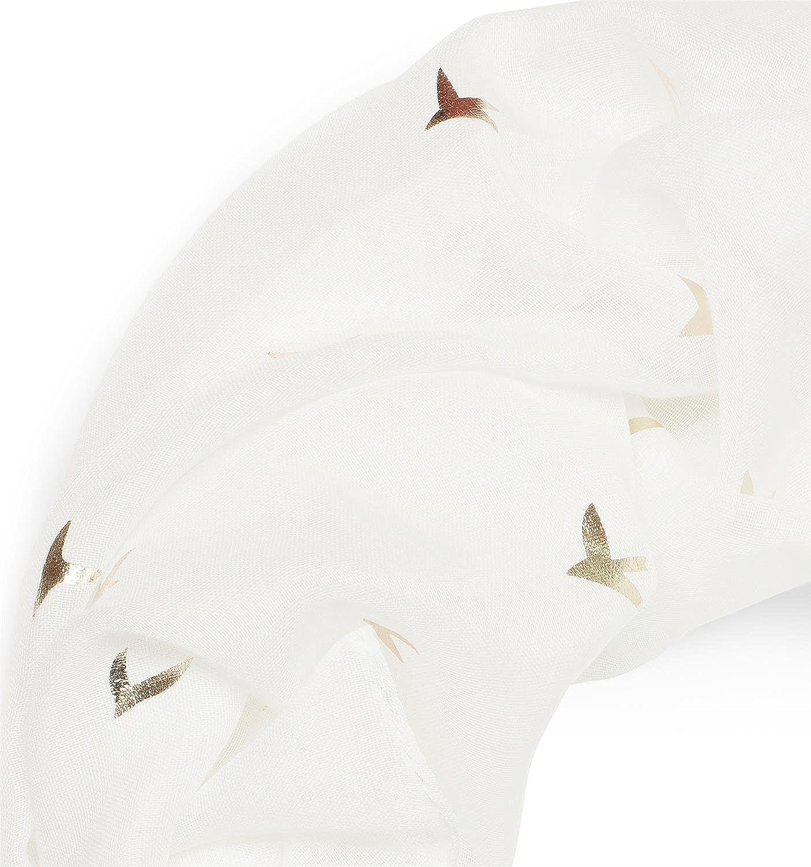 motivo de cachemira styleBREAKER fular de tubo con flores c/álido y suave 01018058 hibiscos