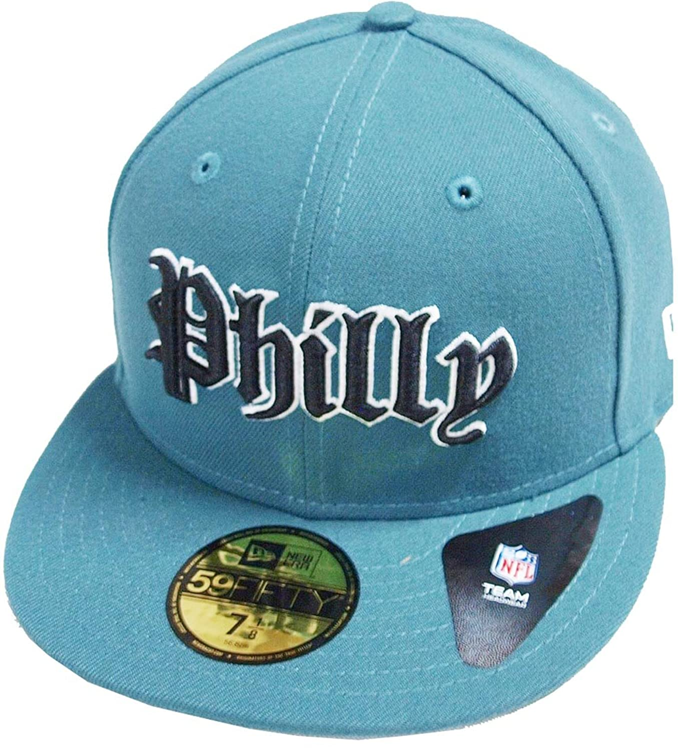 9f5f2e6a41 A NEW ERA Philadelphia Eagles Gothic Pine Needle Green NFL Cap 59fifty 5950  Fitted Basecap Kappe