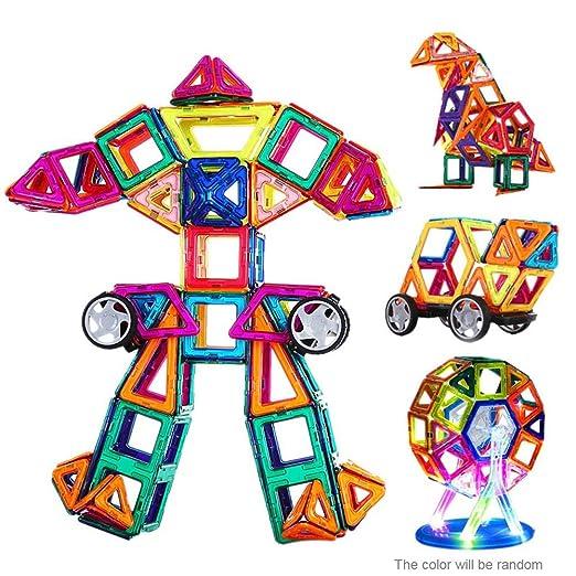 1 opinioni per Goolsky Giocattolo magnetico 72 pezzi plastica edificio blocchi 3D blocchi