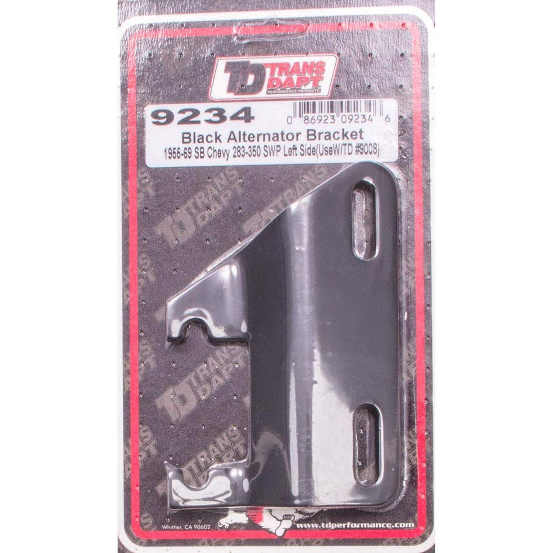 Trans-Dapt 9234 Black Left-Side Alternator/Generator Bracket Trans-Dapt Performance