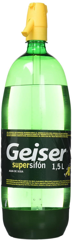 Geiser - Bebida Refrescante Supersifón Botella 1,5 L: Amazon.es: Alimentación y bebidas