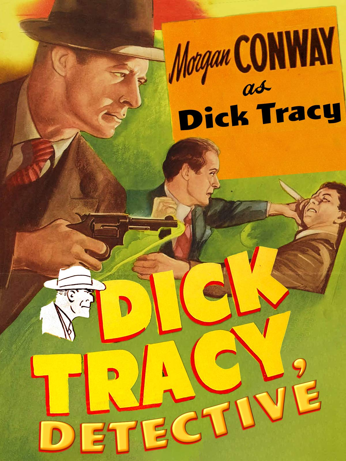 Dick Tracy Detective - Morgan Conway As Dick Tracy
