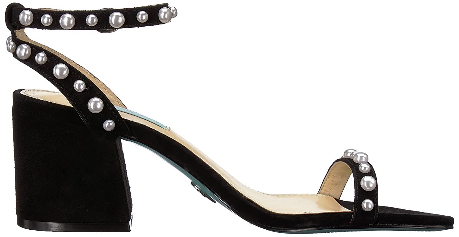 Betsey Johnson Heeled Blue Women's SB-Milli Heeled Johnson Sandal B07BSY68KF Heeled bdd05b