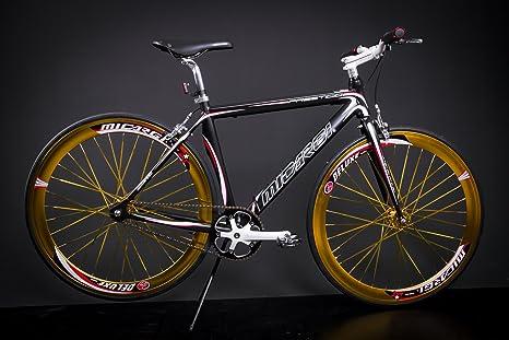 28 Pollici In Alluminio Bici Single Speed Fitness Bike Bici Scatto
