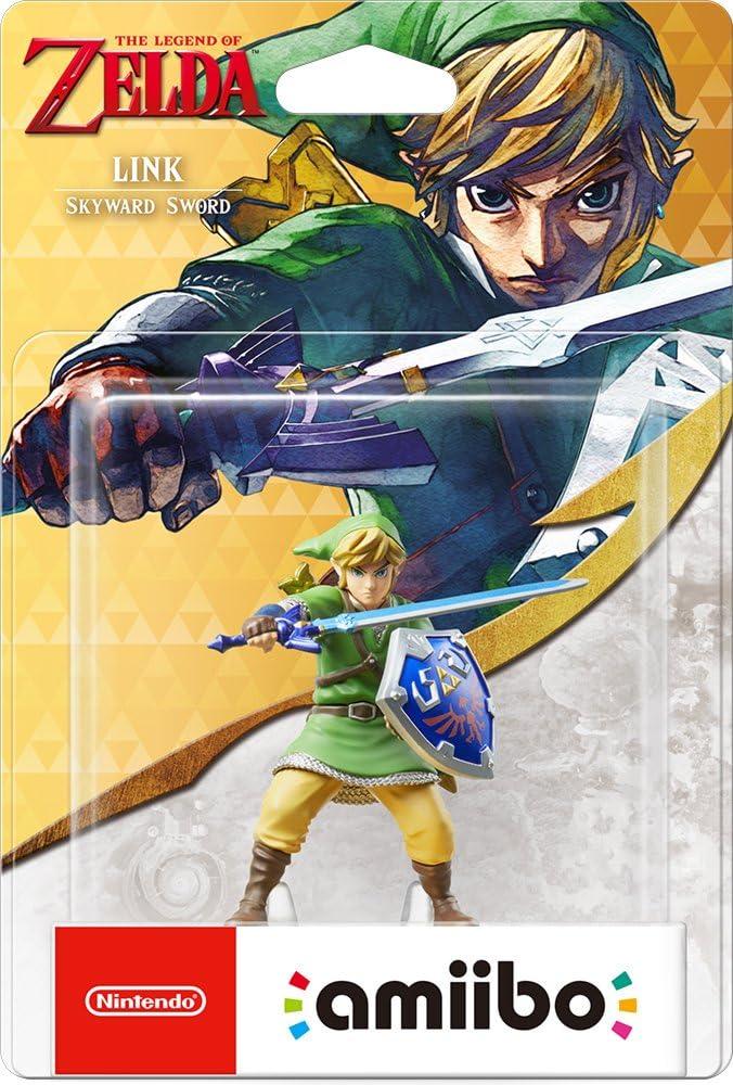 Nintendo - Figura Amiibo Link Skyward Sword Serie Zelda: Amazon.es: Videojuegos