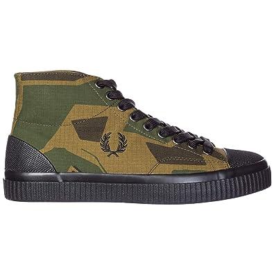 Fred Perry by Arktis Zapatos Zapatillas de Deporte largas Hombres Hughes A: Amazon.es: Zapatos y complementos