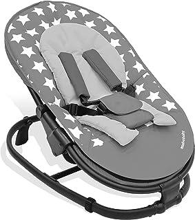 Asalvo Baby Bouncer Stars Grey, Multi-Colour