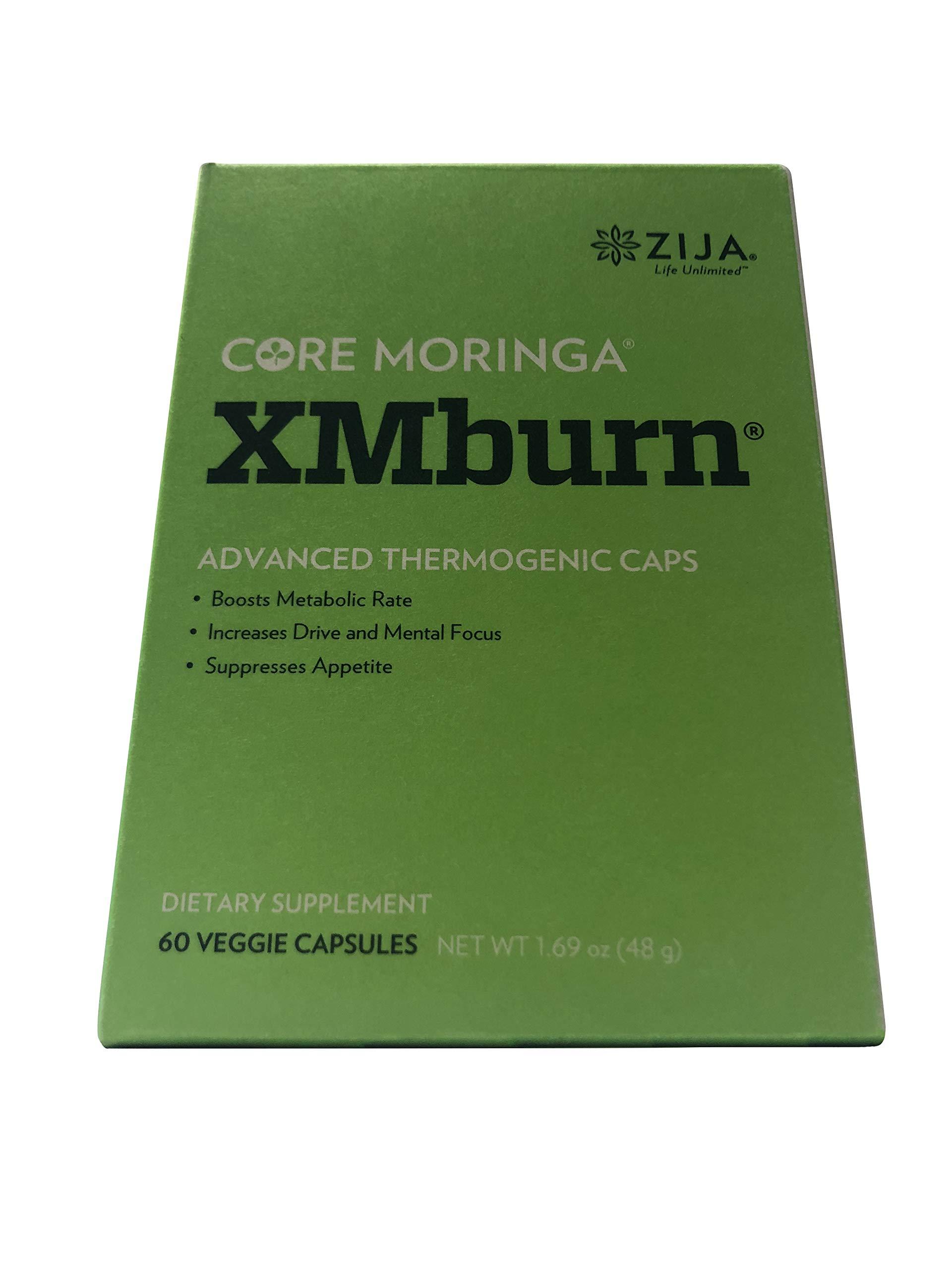 Zija XM BURN Dietary Supplement (60 Capsules) by ZIJA INTERNATIONAL (Image #1)
