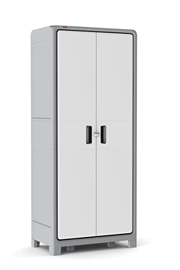 free standing plastic tall storage cabinet
