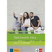 Netzwerk neu a2.1, libro del alumno y libro de ejercicios, parte 1: Kurs- und Ubungsbuch A2.1 mit Audios und Videos