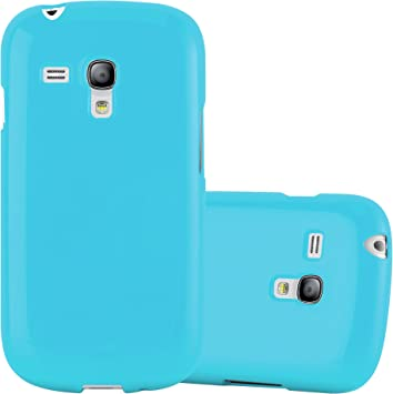 Cadorabo Funda para Samsung Galaxy S3 Mini en Jelly Azul Claro: Amazon.es: Electrónica