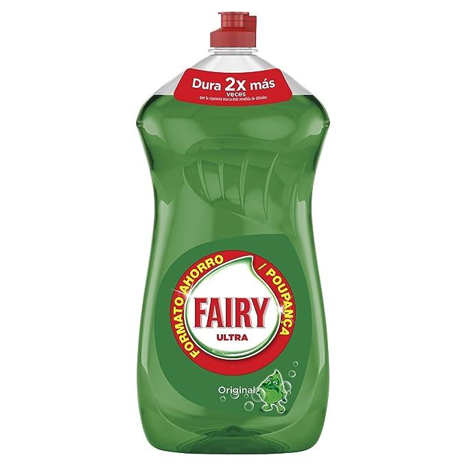 Fairy Ultra, Líquido lavavajillas verde oscuro sin remojo ni grasa ...