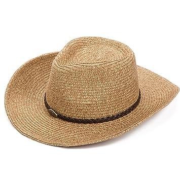 JXXDQ Sombrero de Vaquero Masculino para el Sol 9c230ad63ce