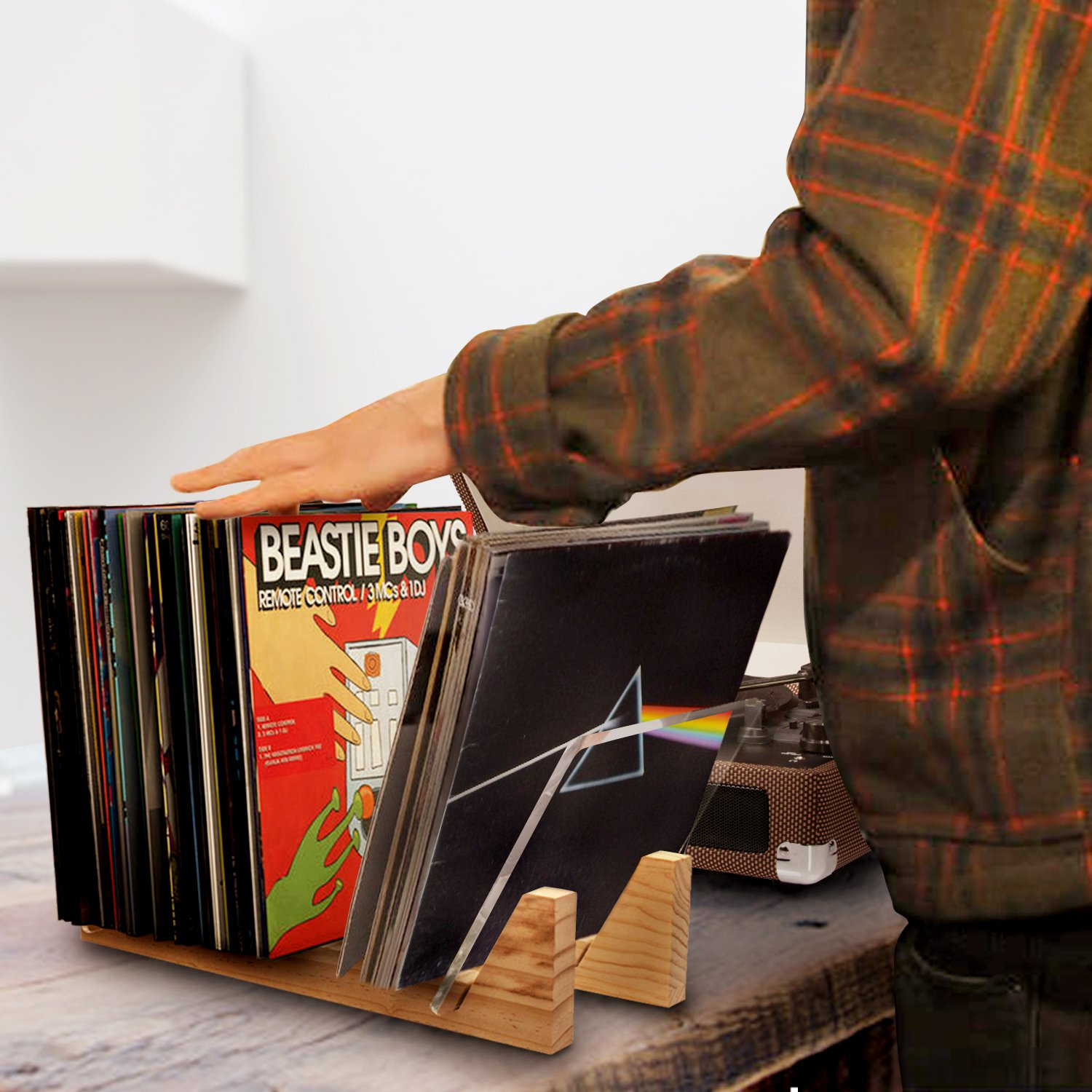 Vinyl Record Storage Holder